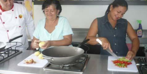 Cooking classes to promote balance: In