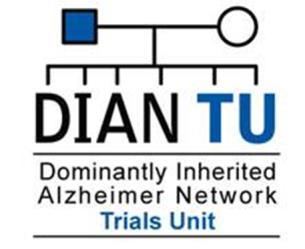 DIAN Biomarker Trial Design Launched 2012 with two drugs each with a unique target to alter the disease course and full data and sample availability Multiple arms: 3:1 active:placebo (75% chance