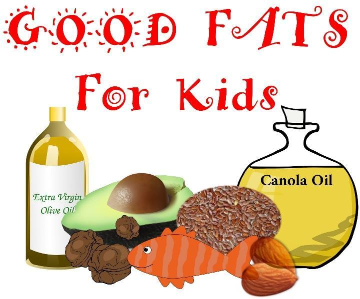 Fat Intake Good fats contain essential nutrients that help children s bodies grow, thrive and develop as they should.