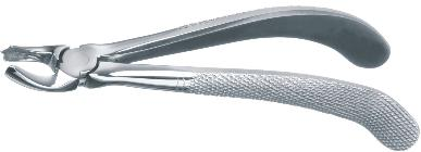 90 (For Upper Left Molars) 170 160 6 150 DS-261-90 140 English Pattern Tooth Extraction Forcep Fig.