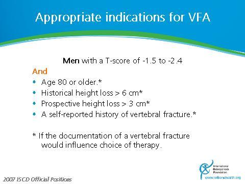 - Vogt TM et al. (2000) Vertebral fracture prevalence among women screened for the Fracture Intervention Trial and a simple clinical tool to screen for undiagnosed vertebral fractures.