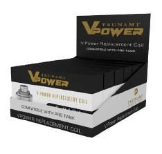 V-POWER PRE-PACKED DISPLAY V-POWER PRE-PACKED DISPLAY comes fully stocked with: 4 V-POWER personal vaporizer kits 45 premium