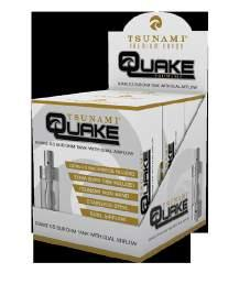 The quake gives users the best of both worlds, offering big power in a compact unit.