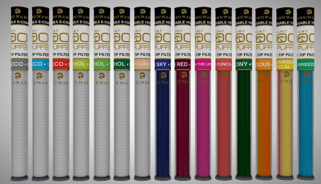 800 PUFFS DISPOSABLE ELECTRONIC CIGARETTES