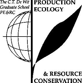 PE&RC Training and Education Statement With the training and education activities listed below the PhD candidate has complied with the requirements set by the C.T. de Wit Graduate School for Production Ecology and Resource Conservation (PE&RC) which comprises of a minimum total of 32 ECTS (= 22 weeks of activities) Review of literature (4.