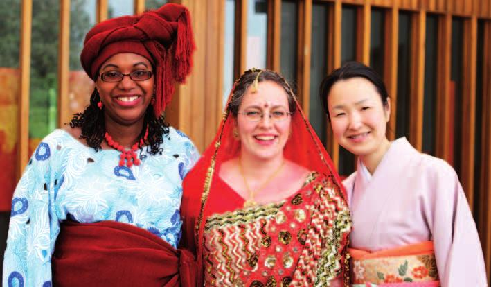 NEWS 2000 OLD MEMBERS CHINEMEREM ABRAHAM-IGWE, SOPHIE DUMONT AND KATSURA SAKO LOOKING RADIANT IN THEIR RESPECTIVE NATIONAL DRESS from research to public policy.