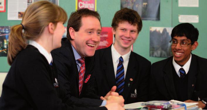 MERTONIANS IN EDUCATION FEATURES DR JOHN NEWTON WITH TAUNTON SCHOOL STUDENTS We are already seeing the next iteration of headship the American model of being totally given over to fundraising and