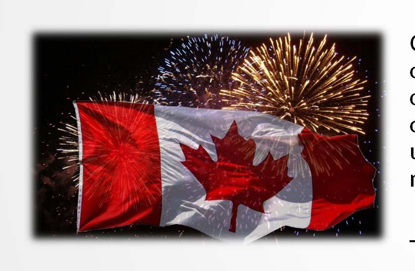 Provide Canadians with opportunities to actively participate and celebrate
