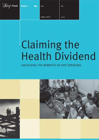 Challenging the view of health as a cost to society: example from the United Kingdom Health sector s contribution to the economy Health and social care system in north-west region, 8.