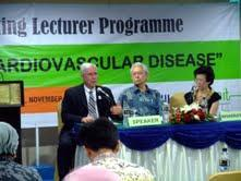 Marzuki Suryaatmadja, SpPK (K) from IACC Prof Gary L Myers talked about Biomarkers for Assessing Cardiovascular Disease Risk The event was well-attended with 106 participants from clinical