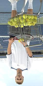 2006-17 yo Peter Polansky (pro tennis player) fell three stories after he sleepwalked out of a window of his