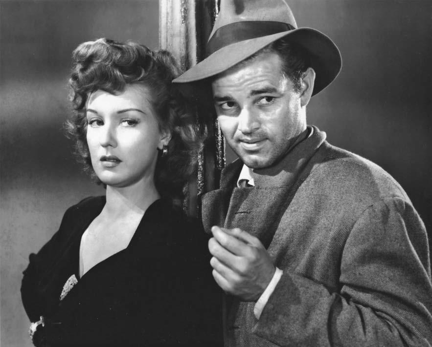 Neal 210 Tom Neal, seen above with Ann Savage in the 1946 film noir classic Detour, made some 180 films before a one-sided fistfight in September 1951 with actor Franchot Tone over sex bomb Barbara