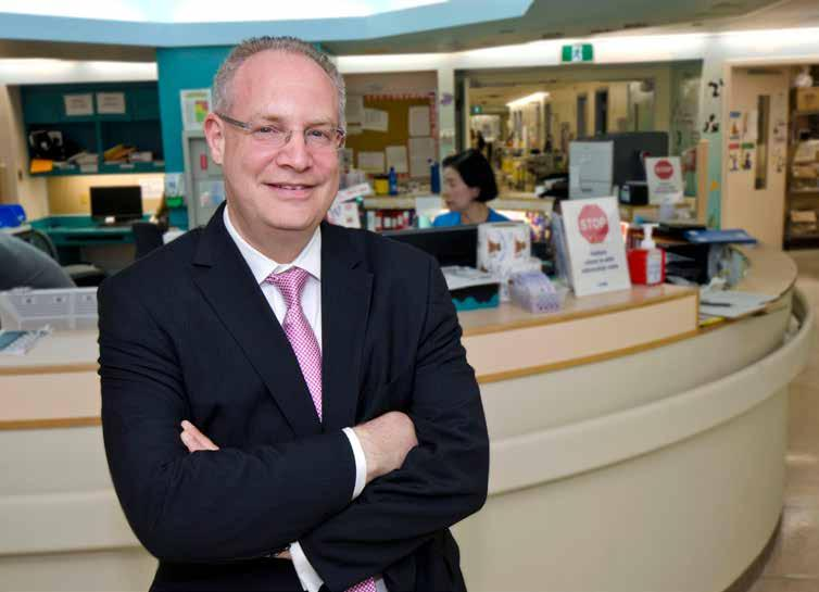 A NEW ERA DR. RONALD COHN APPOINTED CHIEF OF PAEDIATRICS AT THE HOSPITAL FOR SICK CHILDREN I am excited to have Dr. Cohn join the SickKids executive team as Chief of Paediatrics.