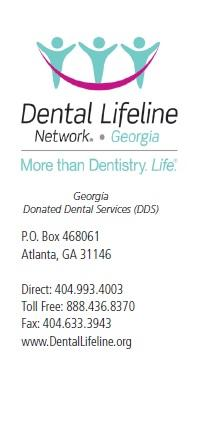 DONATED DENTAL SERVICES (DDS) Dear Applicant: The following pages are the Donated Dental Services (DDS) Program Application.
