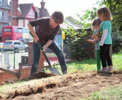 Outcomes / key achievements Nationally, there is increasing recognition of the ways that gardening and getting outdoors can improve mental wellbeing and physical health and the Brighton & Hove Food
