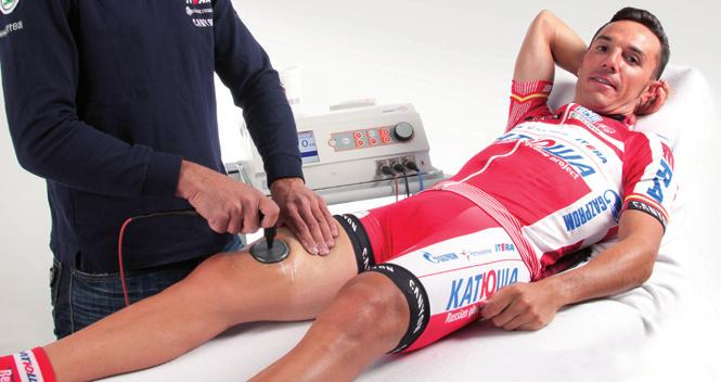 Joaquim Rodríguez, Katusha UCI PRO TOUR Rafael Nadal uses INDIBA activtherapy in his recovery INDIBA Activ is present at many national and international sports events and is used by athletes from