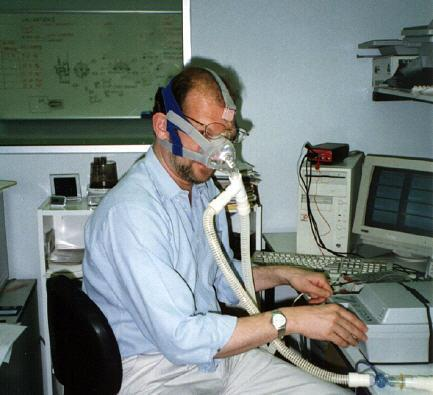 CPAP Treatment NB early experimental mask
