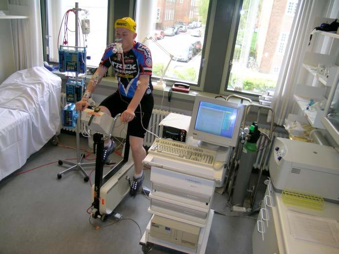 Practical approach to cycle ergometry testing in McArdle A steady-state workload test for 15 min at 65%