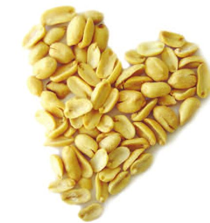 Fiber Fiber is a type of carbohydrate in plant-based foods that provides various health benefits, and over 1/3 of the carbohydrates in peanuts is from fiber. An ounce of peanuts contains about 2.