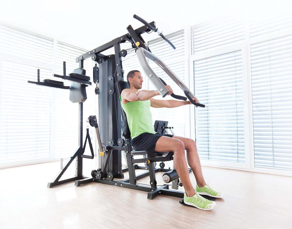 TORUS HOME GYM EXERCISE GUIDE Get more from your strength training routine with the Horizon Torus Home Gym.