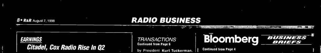 stations, separate from their main studio (where Coleman's employees produced programming for broadcast on the stations); and that Coleman paid directly - on King's behalf - certain operational costs