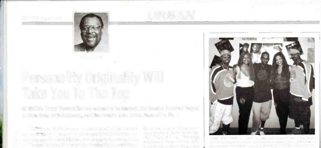 82 R &R August 7, 1998 URBAN WALT LOVE Personality Originality Will Take You To The Top WGC's `Crary' Howard McGee learned to be himself, the Boodah Brothers forged a close bond with listeners, and