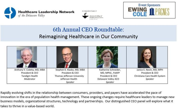 EVENT SPONSORSHIP CEO ROUNDTABLE CEO Roundtable January/February Dinner and facilitated
