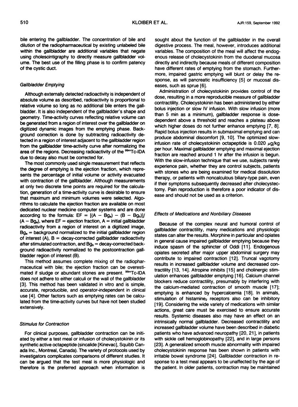 Chronic Biliary-Type Pain in the Absence of Gallstones: The Value of ...