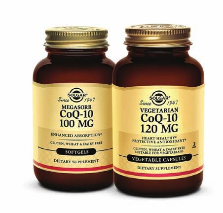 CoQ-10 and Heart Health* The heart has enormous energy requirements; it beats 100,000 times each day, 37 million times a year, and 2.5 billion times in a lifetime.