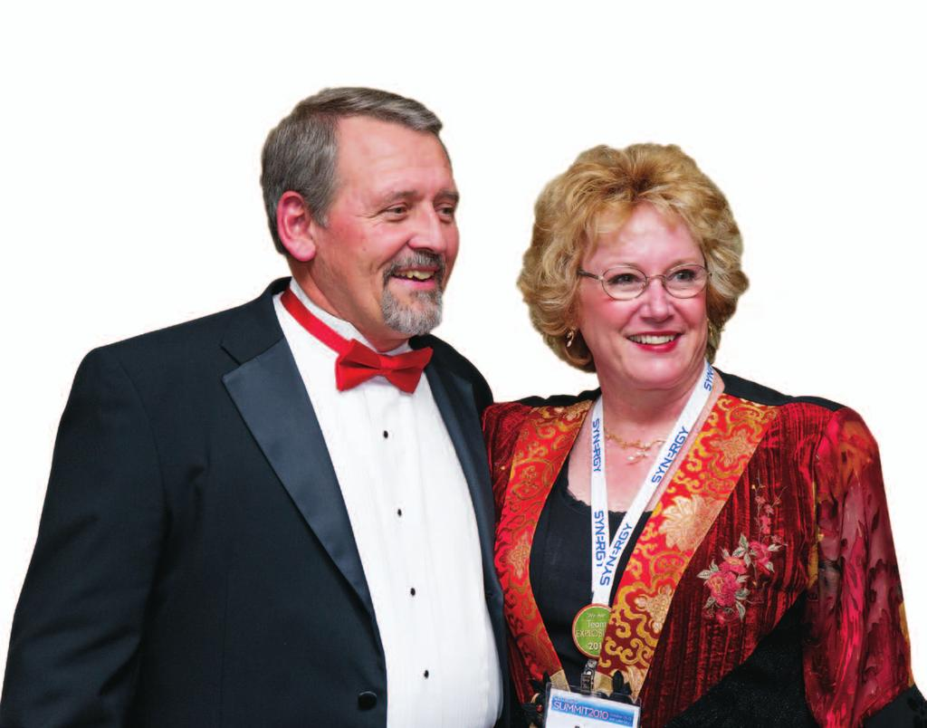 TEAM MEMBER SPOTLIGHT Jim & Rene e Creasey Team Director Grand Junction, Colorado Before joining Synergy WorldWide in March 2009, Jim and Rene e Creasey owned and operated two wilderness lodges on