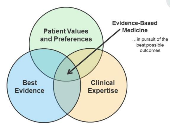Components of evidence-based medicine