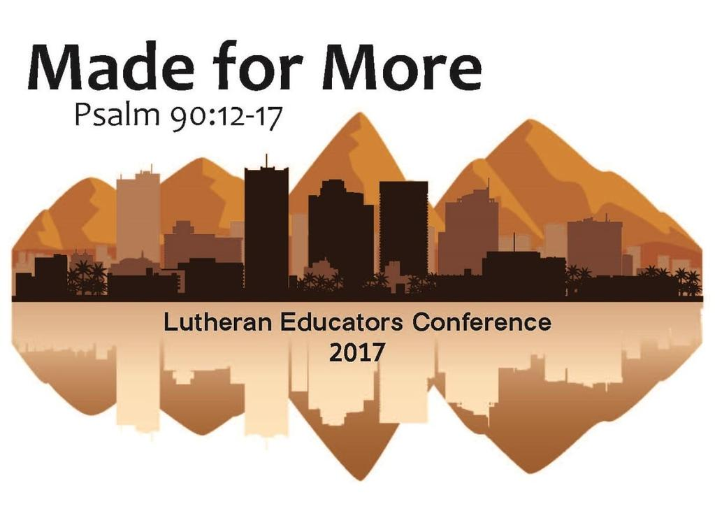 2017 Lutheran Educators Conference Exhibitor & Sponsorship