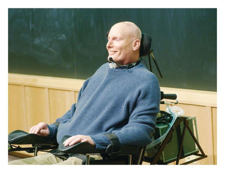 CHRISTOPHER REEVE The late actor Christopher Reeve Suffered a spinal