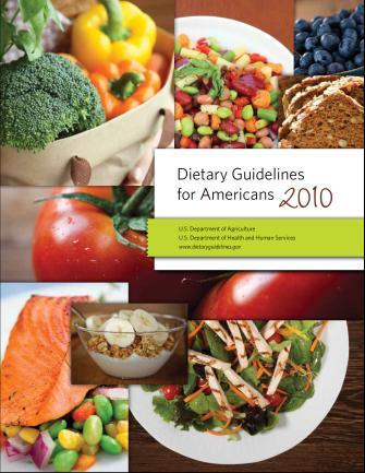 Dietary Guidelines for Americans 2010 DGA recommend 8 ounces/week of a variety of seafood, which provide and average consumption of 250 mg/day of EPA and DHA, associated with reduce cardiac deaths