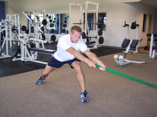 This is by far the most popular resistance band set-up we use in