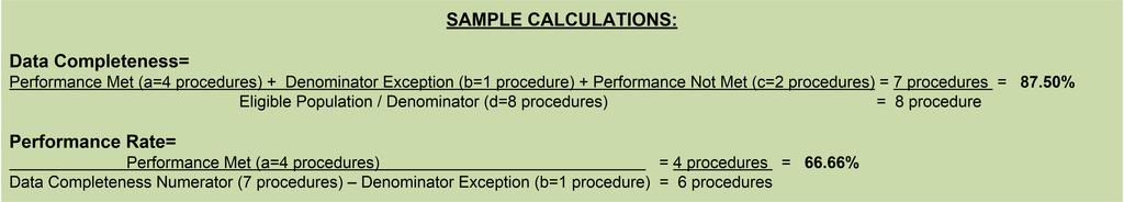 c. If Preoperative Assessment Not Documented, Reason Not Given equals No, proceed to Data Completeness Not Met. 8. Check Data Completeness Not Met. a.