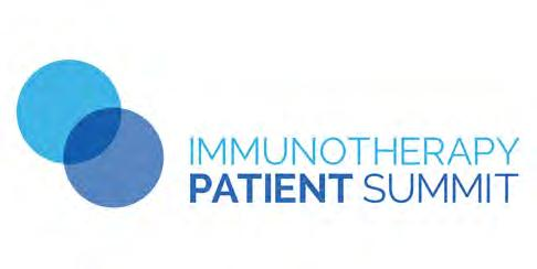 Immunotherapy Patient Summit Series In September 2016, we hosted our first-ever Immunotherapy Patient Summit in New York City.