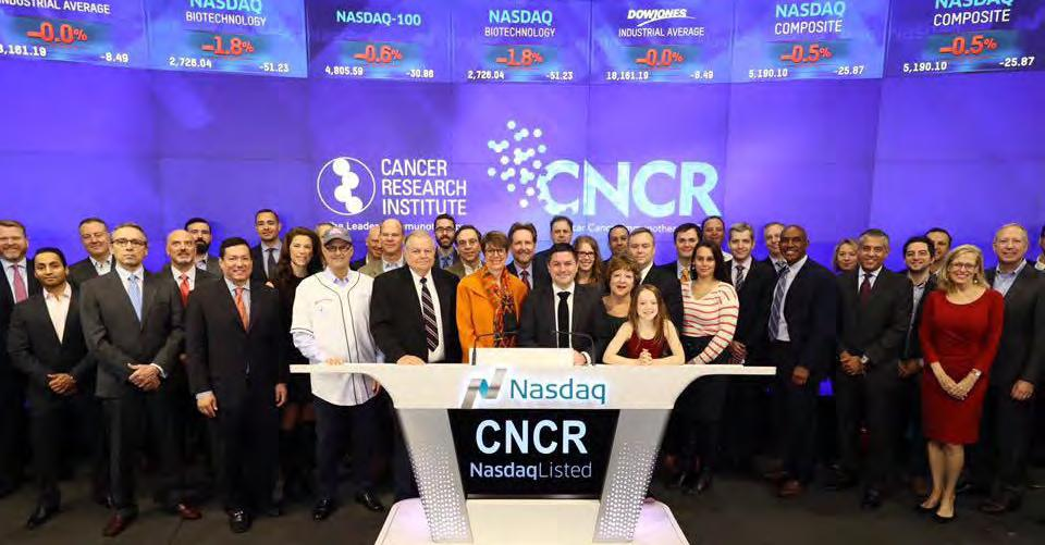 CRI joined Loncar Investments to open the