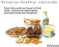 TRANS FATS Created after heating or hydrogenating oil Hydrogenation: Adding hydrogen to liquid fat in