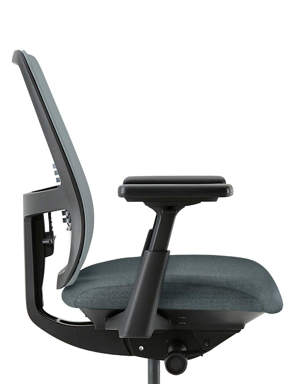DAY-LONG COMFORT With Lively, you benefit from Haworth s industry-leading research in ergonomics and human performance.
