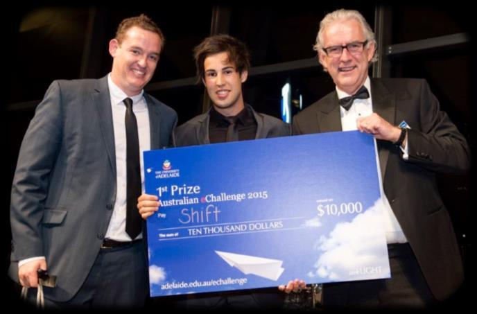 Michael Phillips ~ Class of 2014 Michael, as part of a two man team of University of Adelaide students has taken out first prize in the 2015 Australian echallenge with a new app that aims to boost