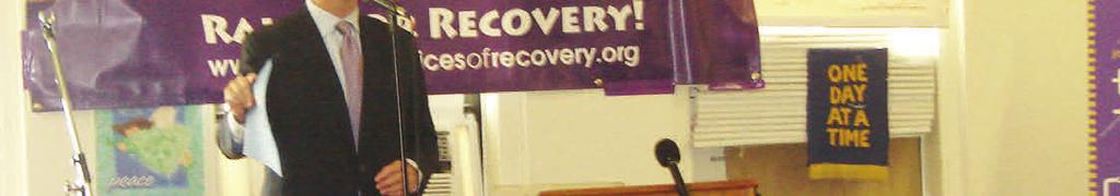 Recovery means to me: Family, meetings, helping others, staying out of jail, fellowship, step work, Steppingstone and its staff, doing 12 step commitments, working full time,