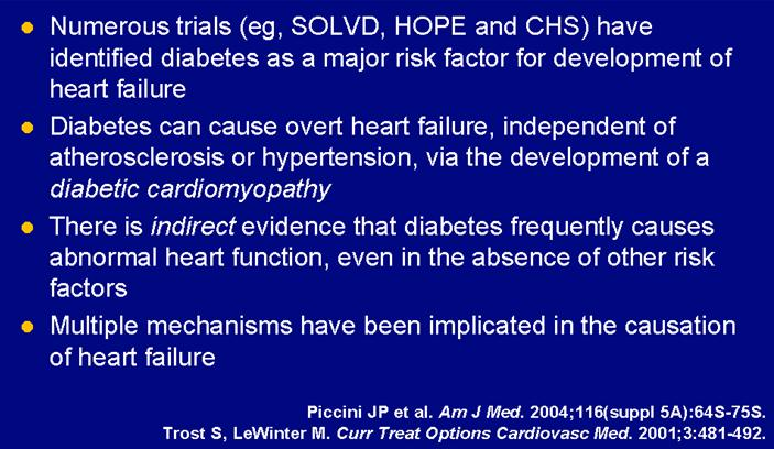 Diabetes and Heart