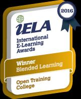 Training News Open Training College (OTC) wins International elearning Award Chosen from over a hundred entries from universities and colleges across the globe, the Open Training College (OTC) was