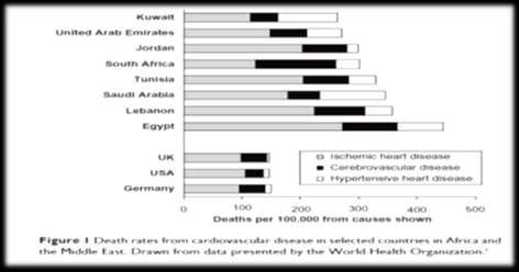 Death Rates From Ischemic Heart Disease In Egypt is the Highest Compared to Other Countries In Africa And Middle East 3 Therapeutics and Clinical Risk