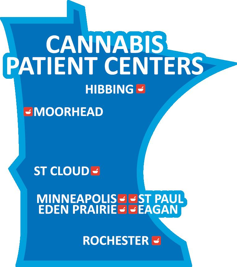 Cannabis Patient Center Locations:
