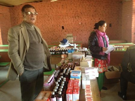 PP Niranjan Bhattarai will be arranging to distribute medicines coming Saturday, at panchkhal Health Camp programme, the medicine is being provided by Deurali Janta.