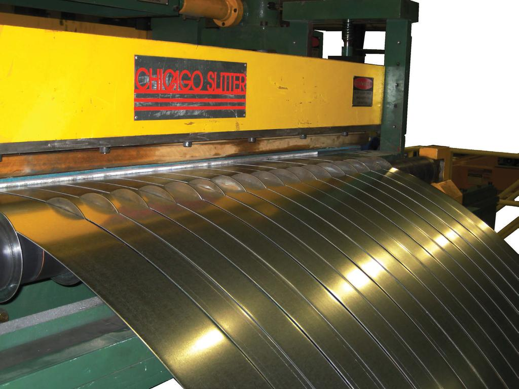PRECISION SLITTING SYSTEMS For more than 40 years, Chicago Slitter has been a leading designer and builder of high performance heavy-duty coil slitting lines, blanking lines, cut-to-length lines and