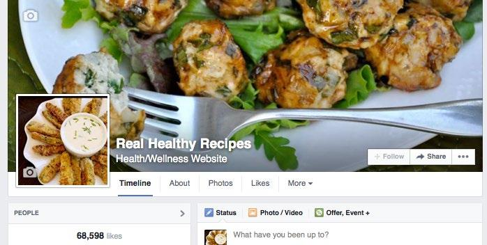 The day I decided to cut out all processed foods and to eat a diet of only real food, I started posting to my fan page Real Healthy Recipes a few times each day.