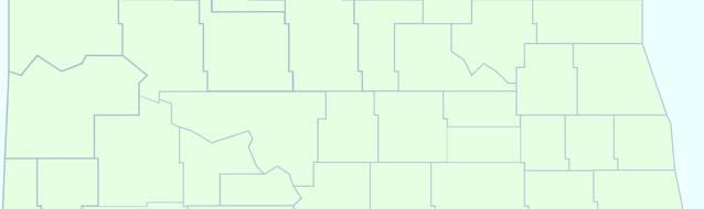 NORTH DAKOTA Population 639,715 Median M age - 38.